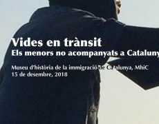 """Jornada: """"Vides en trànsit, els menors no acompanyats a Catalunya"""""""