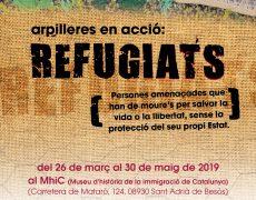 Arpilleres en acció, Refugiats