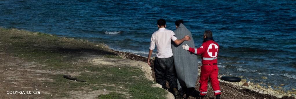 Crisis migratoria en el Mediterráneo, imatge de rescat